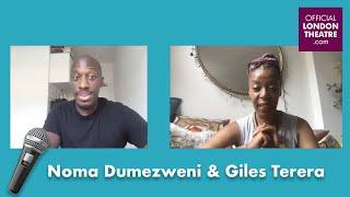 Noma Dumezweni chats to Giles Terera | Mountview LIVE