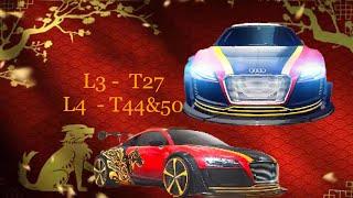 Asphalt 8 - R&D - Audi R8 E-tron SE - lab 3,4 - test 27, 44, 50 (0500 5050)
