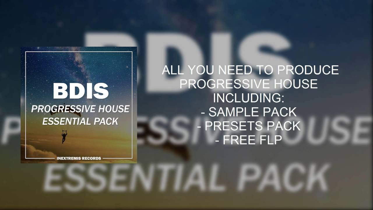 Progressive house samples loops basslines sample packs.