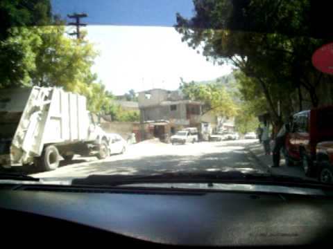 Driving through canape vert in haiti youtube for Canape vert haiti