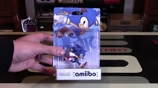 Sonic Amiibo Unboxing + Review | Nintendo Collecting