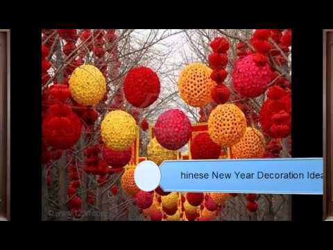 6780e0ea2 Chinese New Year Decoration Ideas - YouTube