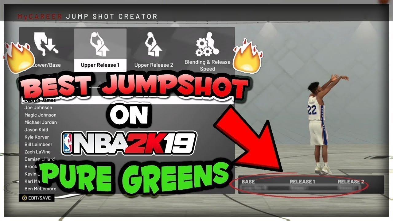NBA 2K19 MY CAREER GAMEPLAY BEST JUMPSHOT FOR