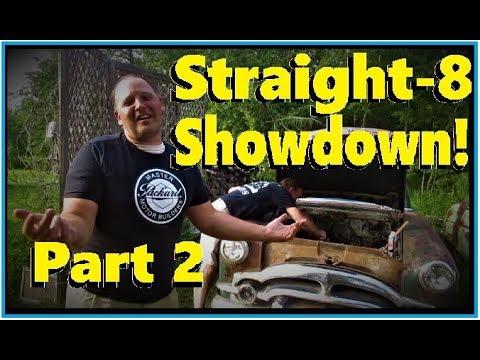 Will they Run? Straight-8 Showdown! Packard vs Buick, Part 2...