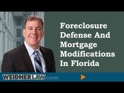 Foreclosure Defense Florida | Foreclosure Lawyer Florida | (727) 954-8752