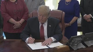 President Trump Meets with American Manufacturers and Signs an Executive Order