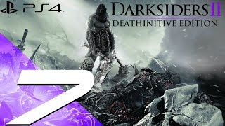 Darksiders II Deathinitive Edition PS4 - Walkthrough Part 7 - Construct Hulk [1080p 60fps]