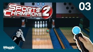 Sports Champions 2 PS Move Walkthrough - Part 3/6 [Bowling - Gold Difficulty]