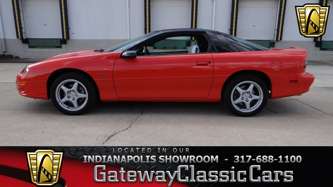 1999 Chevrolet Camaro SS - Gateway Classic Cars Indianapolis - #673 ...