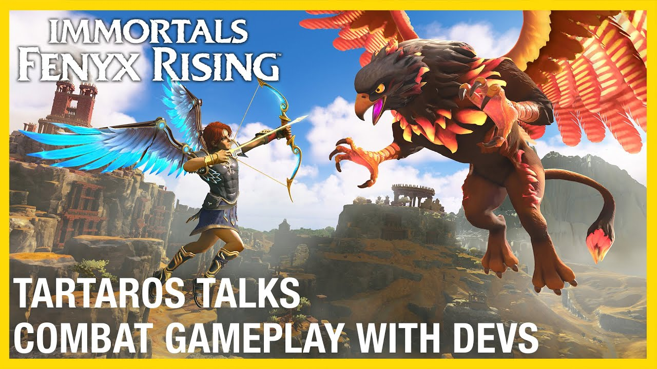 Immortals Fenyx Rising: Tartaros Talks – Combat with Dev Gameplay Deep Dive | Ubisoft