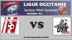 R2 - St Orens FC contre US Revel