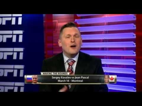 Sergey Kovalev Vs Jean Pascal | ESPN Sport News | Upcoming Fight On HBO Boxing | Boxing News Promo