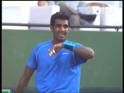 Davis Cup 2017 | Prajnesh Gunneswaran vs Temur Ismailov | #INDvUZB
