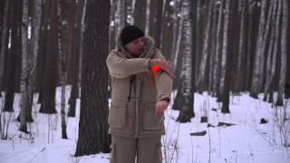 видео Зимний охотничий костюм