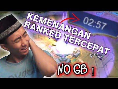 RANKED TERCEPAT SEPANJANG SEJARAH !!!