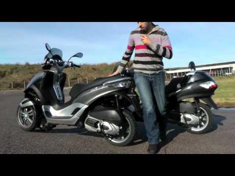 Piaggio MP3 Yourban 125ie et 300ie : 1er essai vidéo par Scooter-Station.com !