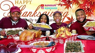Thanksgiving Meal, Happy Thanksgiving from Bloveslife & Family