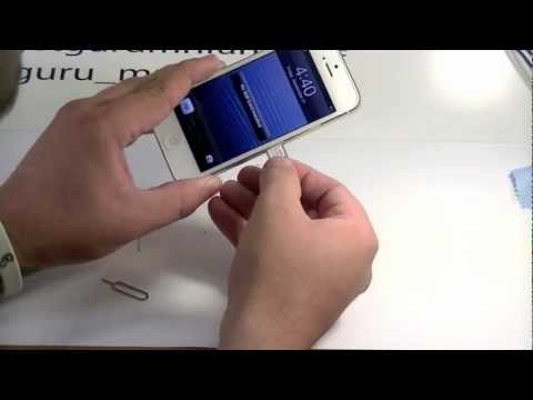 How to remove sim from iphone 5s