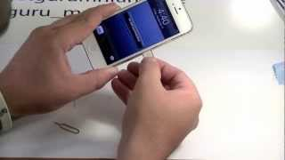 How To: Remove iPhone Sim Card/Tray