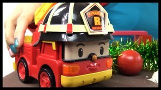 Robocar Poli Toy Collection - ROAD CLOSED! Toy Cars demo  (로보 카 폴리)