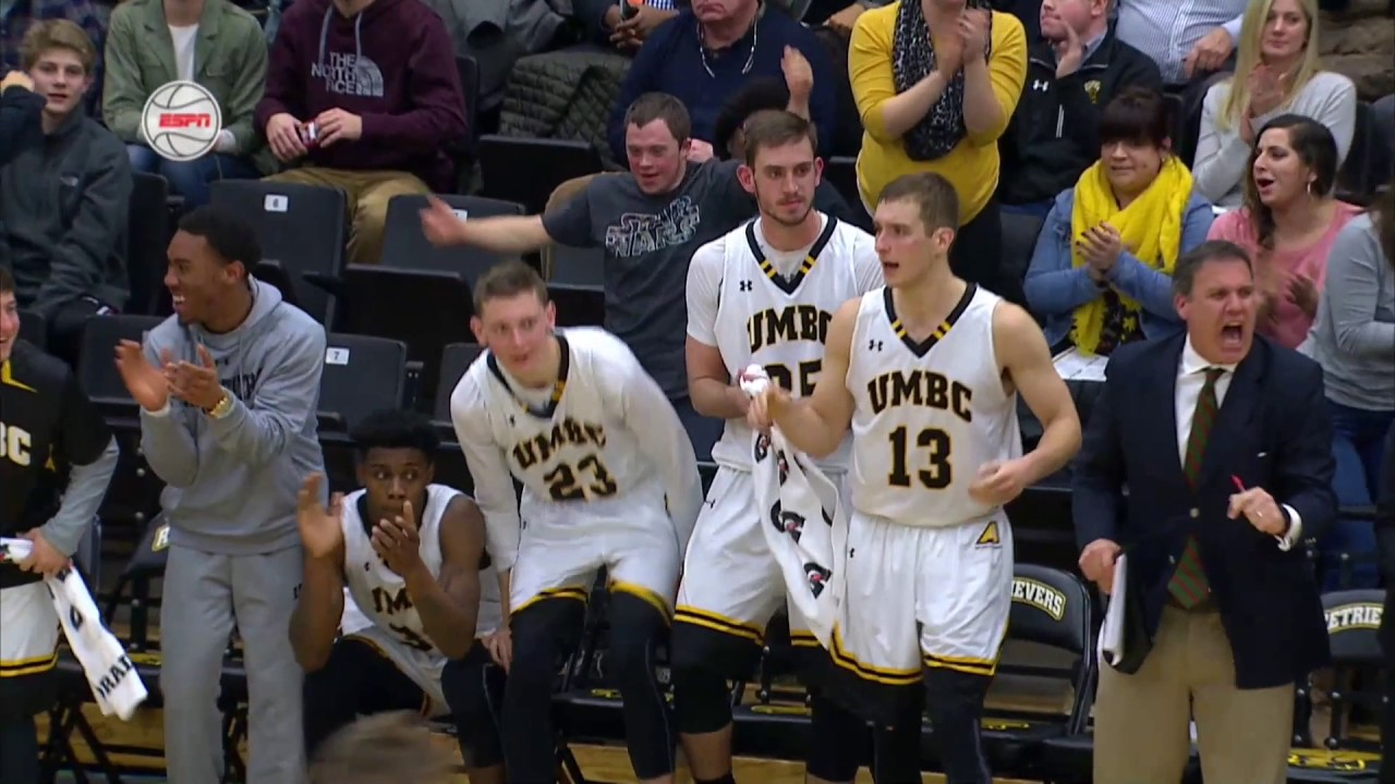 35c3386e153 UMBC Men's Basketball vs The Citadel Highlights 12/19/16 - UMBC