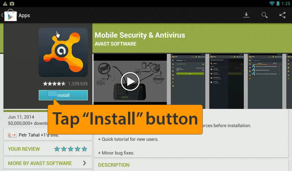 free avast antivirus software for android tablet