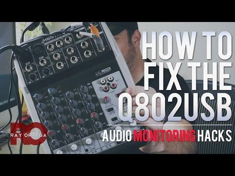 What's Wrong With the Behringer Q802USB Mixer and How to Fix It