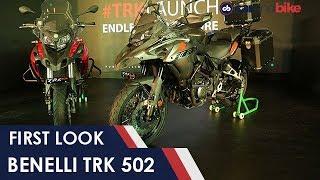 Benelli TRK 502 First Look   NDTV carandbike