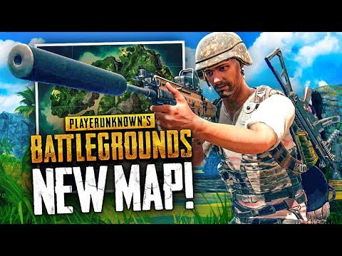 NEW JUNGLE MAP WIN! - Battlegrounds 4x4km Map Gameplay (PUBG)