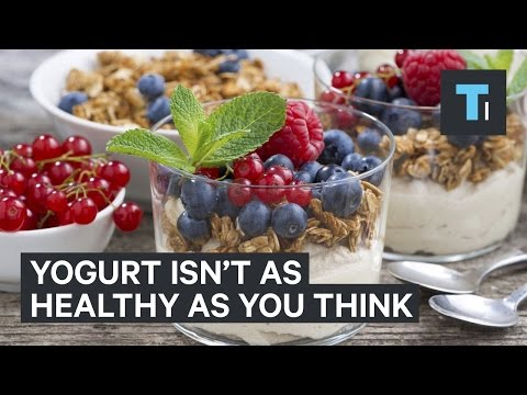 Yogurt isn't as healthy as you might think