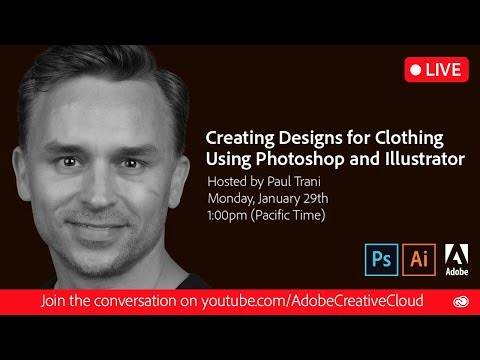 Creating Designs for Clothing Using Photoshop and Illustrator