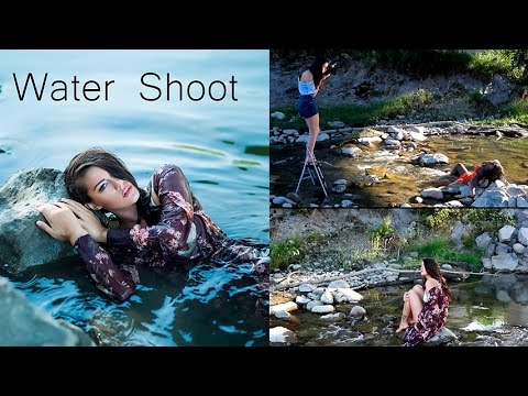 Natural Light Water Shoot Behind The Scenes