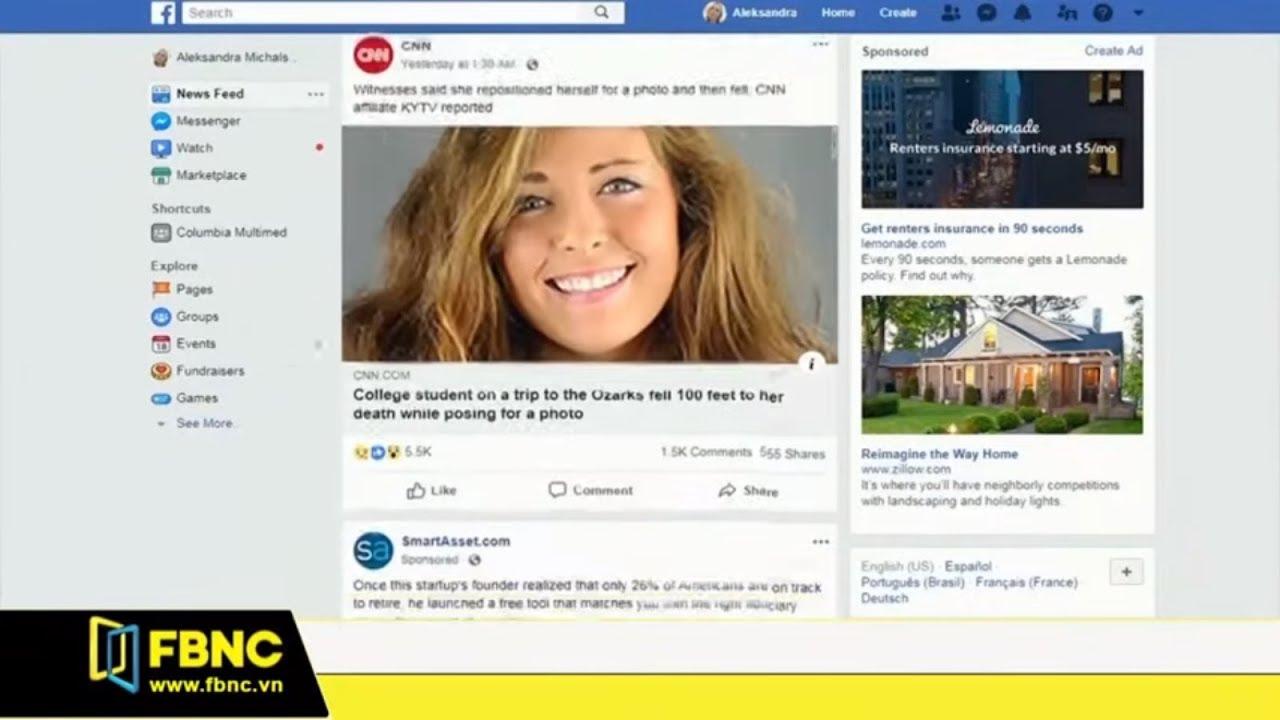 Facebook thừa nhận làm lộ email 1,5 triệu người dùng | Giờ tin sáng FBNC 20/4/19