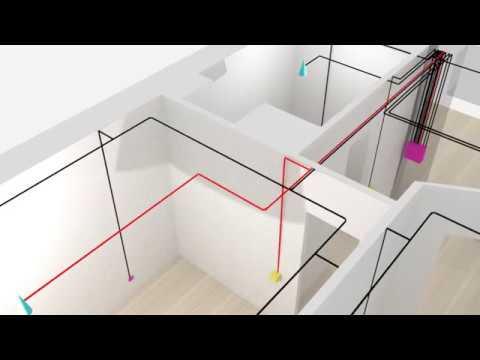Схема электропроводки в квартире. Архитектура электропроводки.