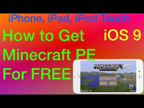 how to play minecraft pocket on ipad