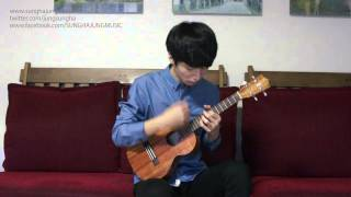 (Frozen OST) Let It Go -- Sungha Jung (Ukulele Ver)