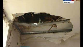 Часть потолка обвалилась в квартире на Портовой 3(, 2016-09-28T03:12:41.000Z)