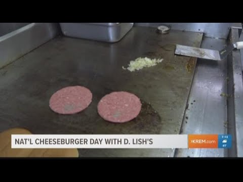 National cheeseburger day with D. Lish's (09-18-2018)