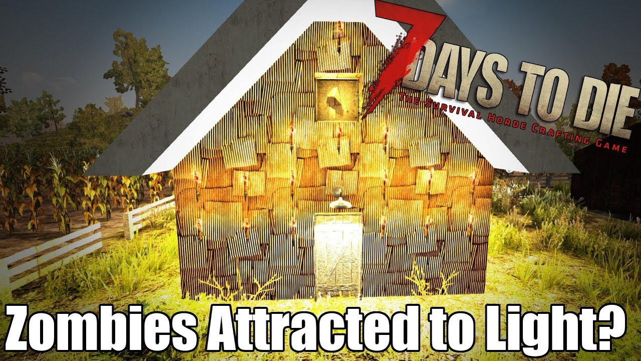 Lightalpha 7 Days 16 To ZombiesTorchesCandlesElectric Die Do Attract Lights R54ALj