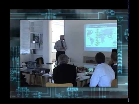 Graham delivering Corporate Presentation short clip