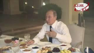 Azərbaycan Prezidenti İlham Əliyev Rusiya Prezidenti Vladimir Putini evinə çay süfrəsinə dəvət edib