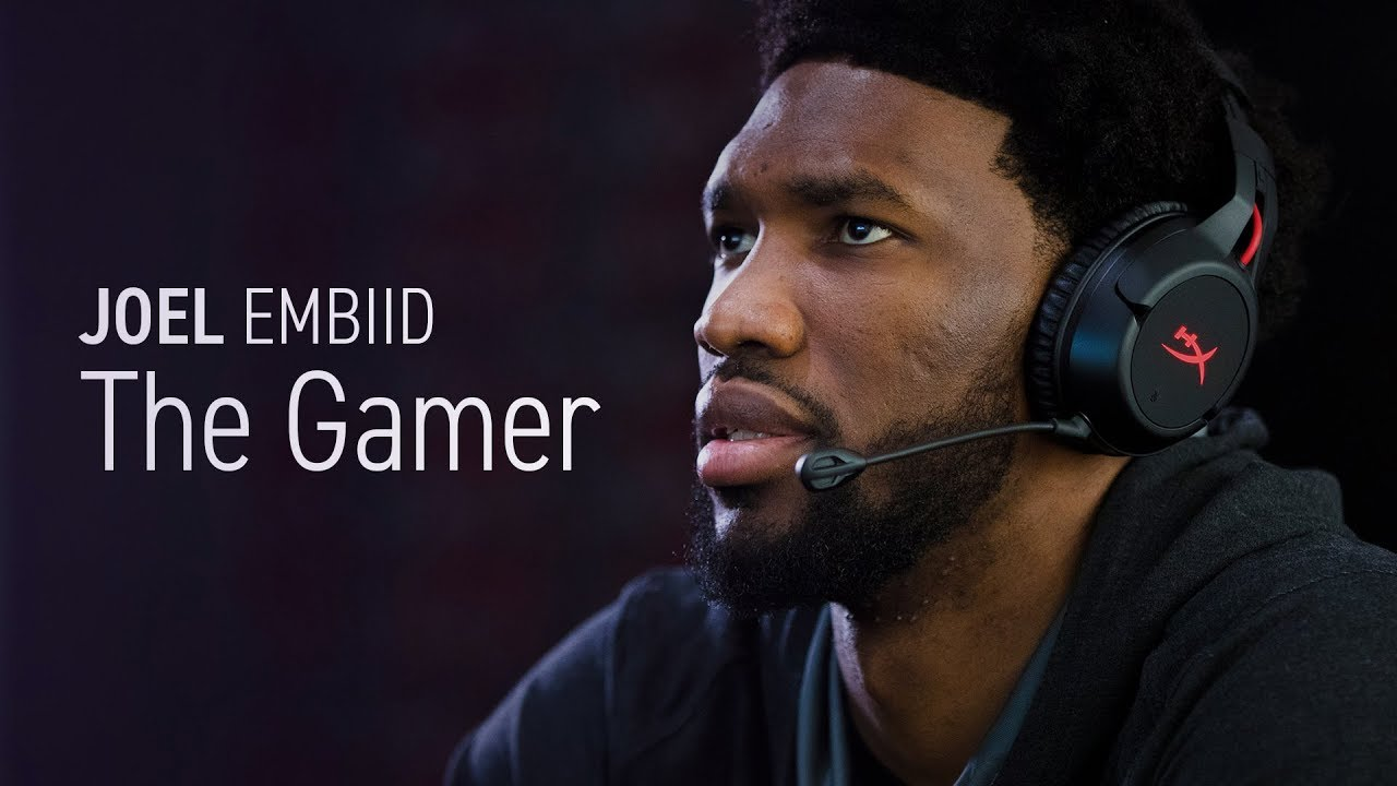 Joel Embiid - NBA Player, Video Game Player - YouTube