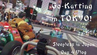 Go-Karting in TOKYO!  - Sleepless in Japan - Day 4 Vlog