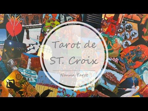 開箱  聖克羅伊塔羅牌 • Tarot de ST. Croix // Nanna Tarot