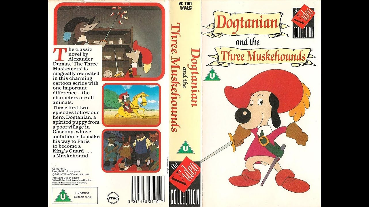 Download Original VHS Closing: Dogtanian and the 3 Muskehounds (UK Retail Tape)