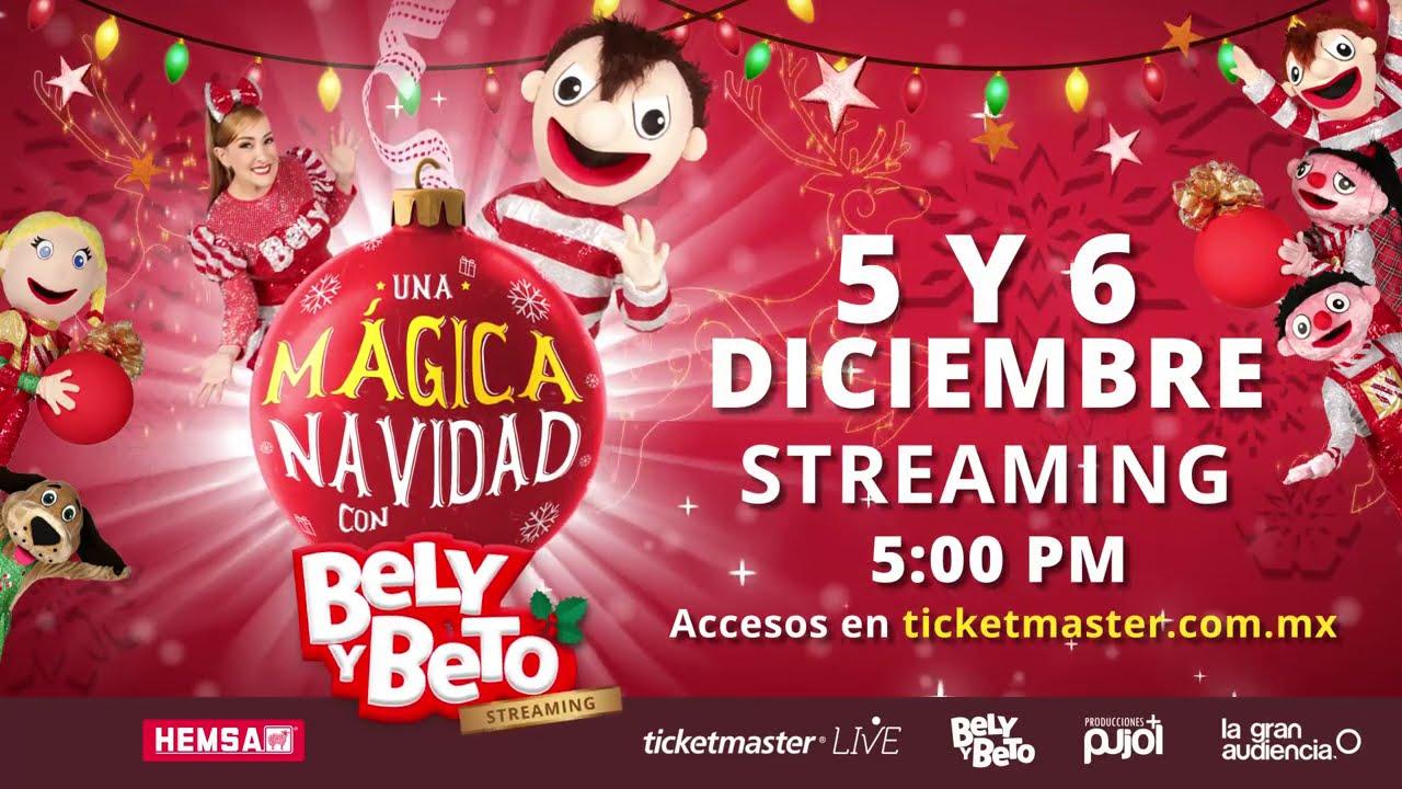 Especial Navideño ON LINE - Mágica Navidad con Bely y Beto