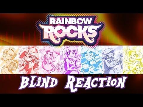 Blind Reaction - MLP: Equestria Girls Rainbow Rocks
