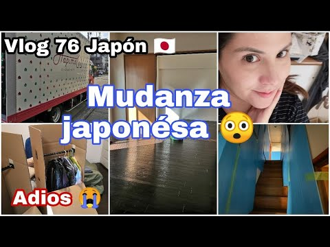 VLOG 76 JAPON NOS MUDAMOS...  ADIOS