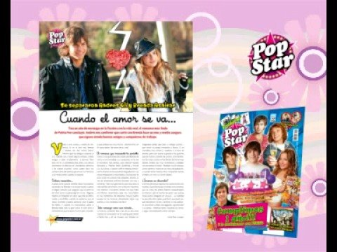 Salio Revista Popstar! Numero 12