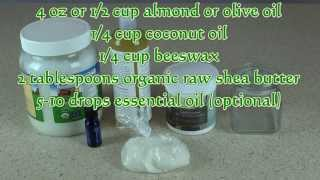 Shea Butter Lotion Recipe -- Learn How To Make Lotion At Home Thumbnail